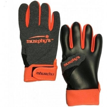 Gaelic Gloves Grey/Orange