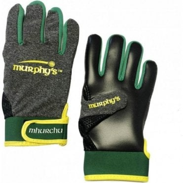 Gaelic Gloves Grey/Yellow/Green