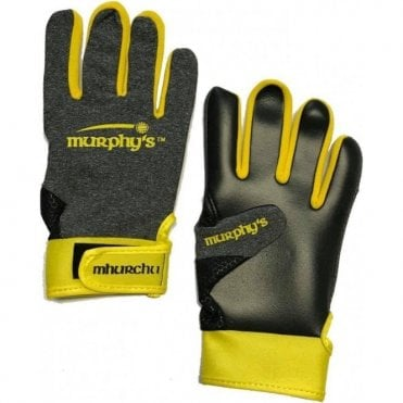 Gaelic Gloves Grey/Yellow