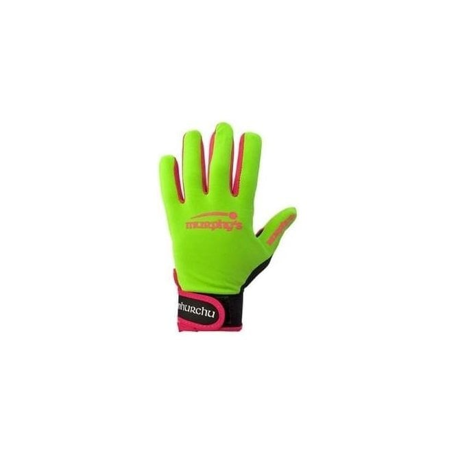 Murphy's GAELIC GLOVES LIME/PINK