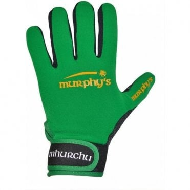 MURPHYS GAELIC GLOVES GREEN/YELLOW