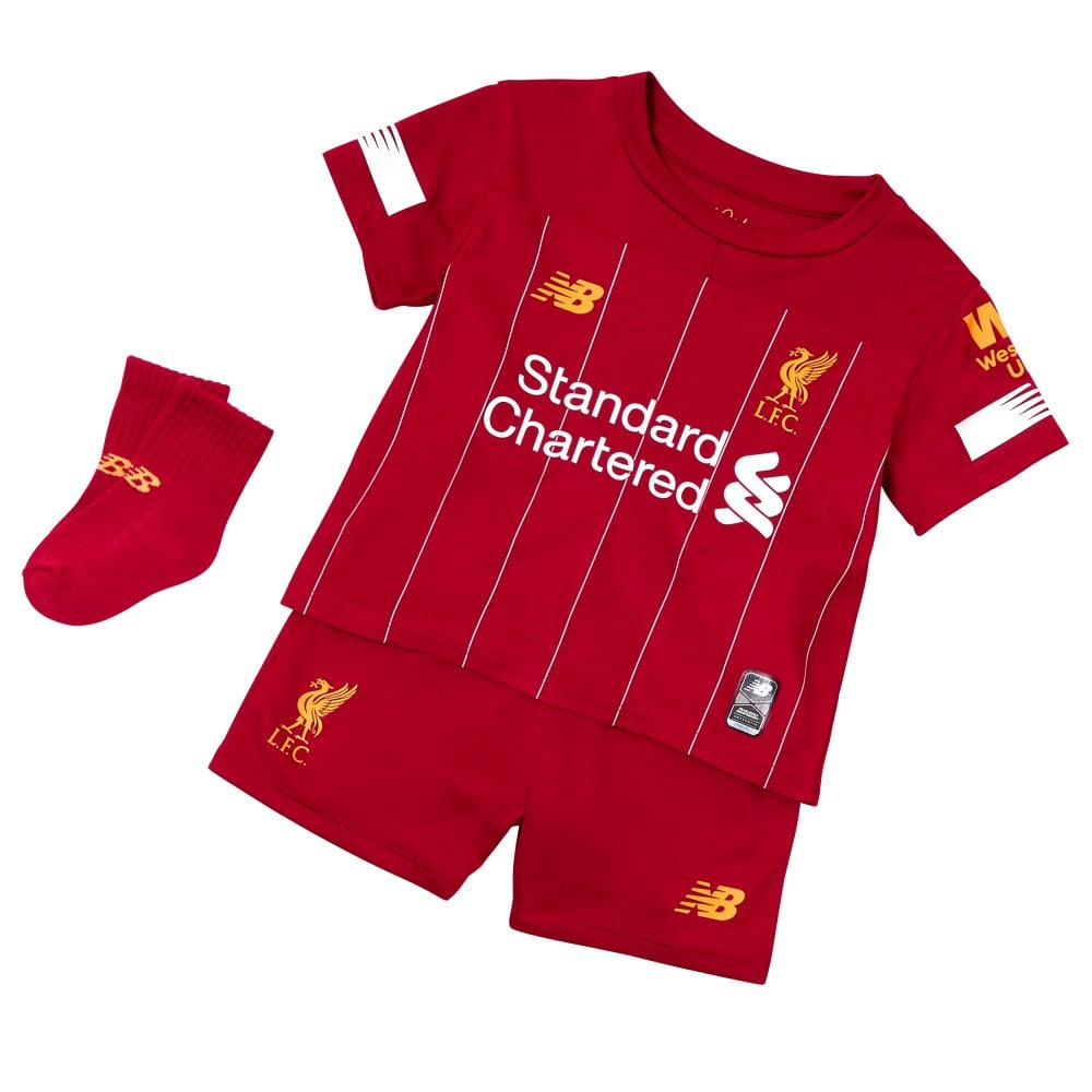 73ec37a122c New Balance Infant Liverpool Home Kit 19 20
