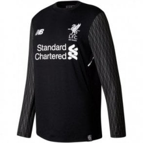 Kids Liverpool 17/18 Away GK LS Jersey
