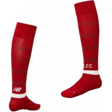 Kids Liverpool Home Socks 18/19