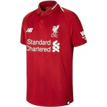 Kid's Liverpool Home SS Jersey 18/19