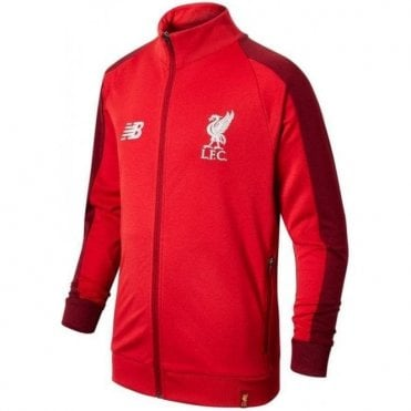 Kids Liverpool Training Presentation Jacket