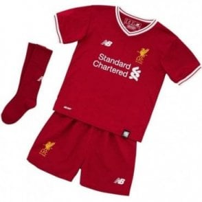 Liverpool 17/18 Baby Home Kit