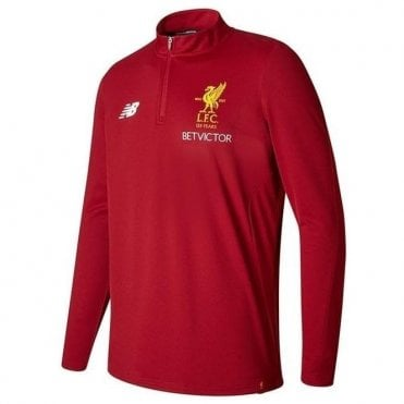 Liverpool 17/18 Elite Training Zip Sweat