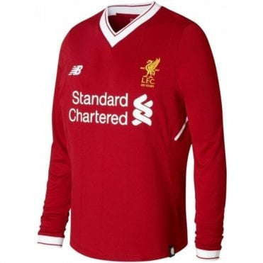 Liverpool 17/18 Home LS Jersey