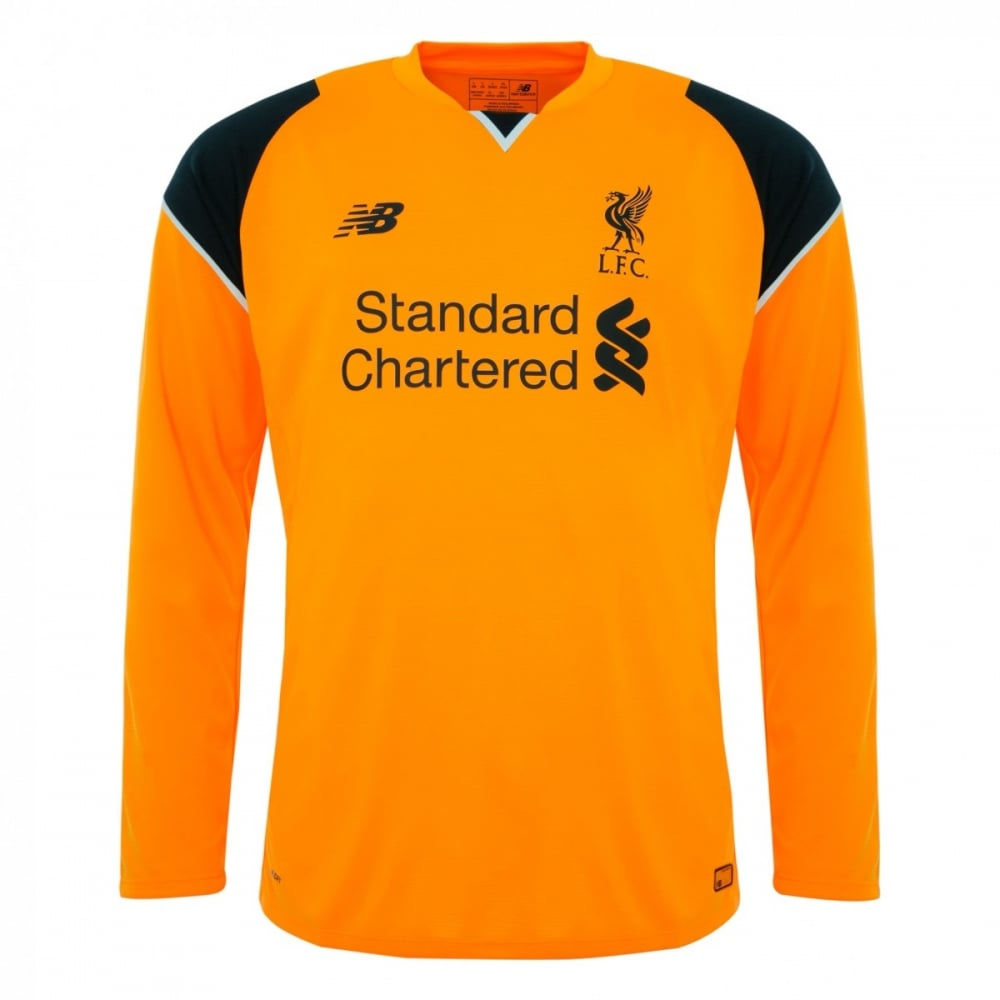 huge discount a505d cafb7 New Balance LIVERPOOL FC AWAY LS GK JNR JERSEY