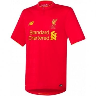 LIVERPOOL FC HOME JNR SS JERSEY 2016