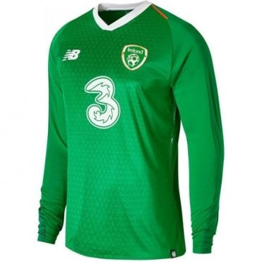 Men's Ireland Home Jersey LS 18/19