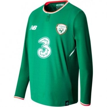 Mens Ireland LS Home Jersey