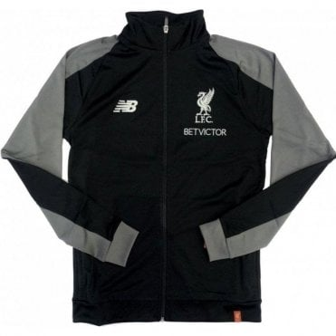 Men's Liverpool Elite Training Presentation Jacket Black