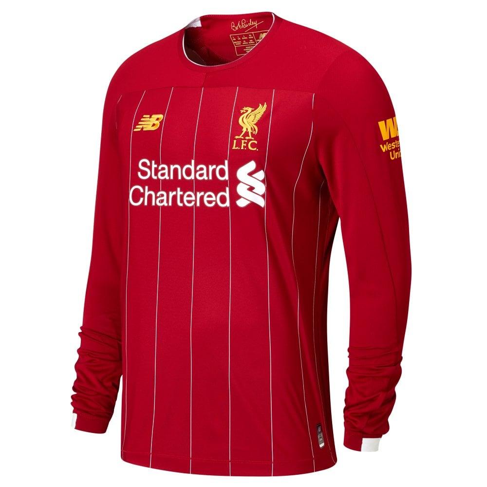 beec7186ef9 New Balance Men's Liverpool Home LS Jersey 19/20   BMC Sports