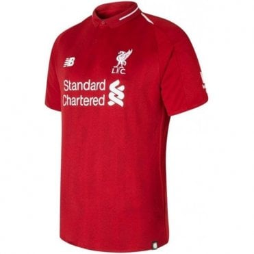 Men's Liverpool Home SS Jersey 18/19
