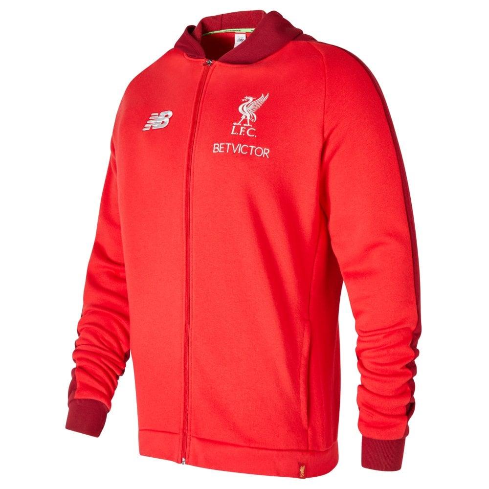 fdf162595e9 New Balance Men s Liverpool Leisure Hoodie Red
