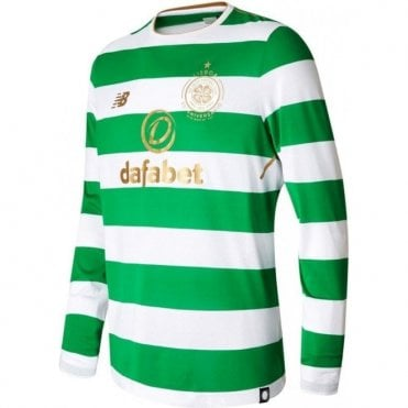 PRE-ORDER Celtic Home LS Jersey Release Date 25/05/2017