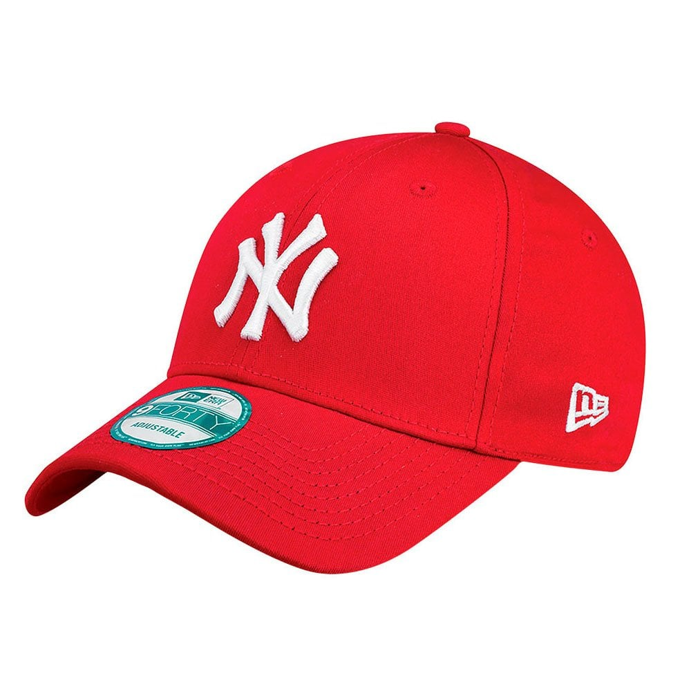 biggest discount so cheap high quality New York Yankees League Basic 9Forty Cap Red