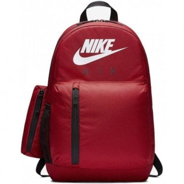 Air Elemental Backpack w/ Pencil Case Red
