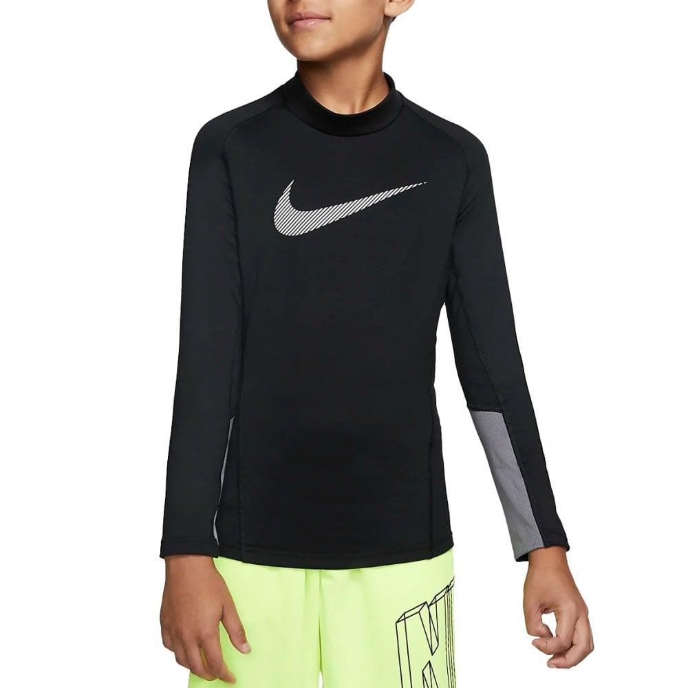 Nike Boys Pro Therma Mock Neck Training