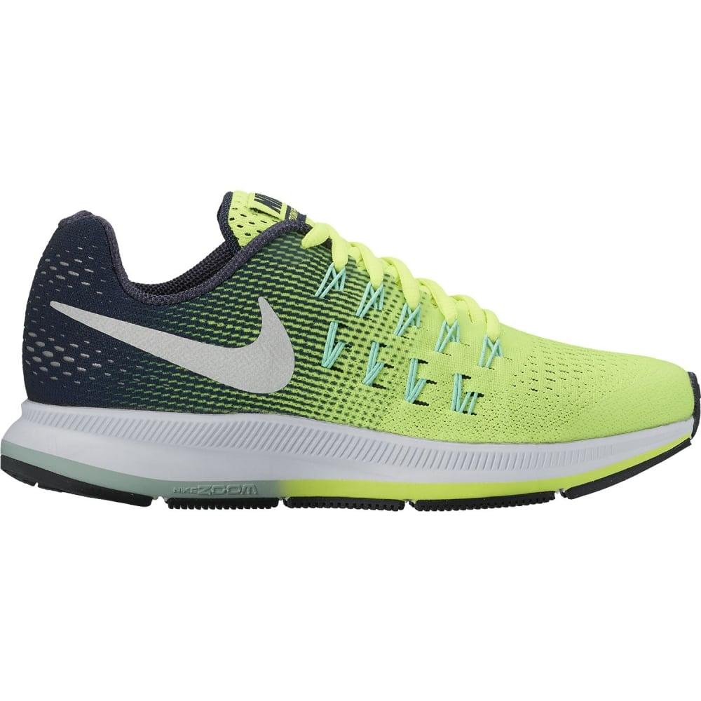Det bästa online här bästa erbjudanden på Nike Boys Zoom Pegasus 33 Running Shoe Green