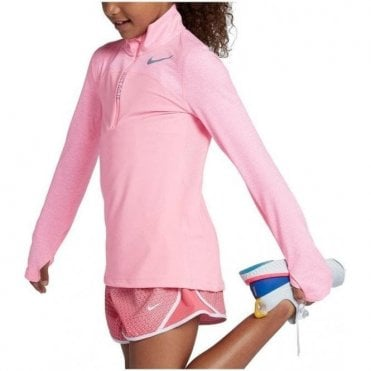 Girls Dri-FIT Element Half Zip