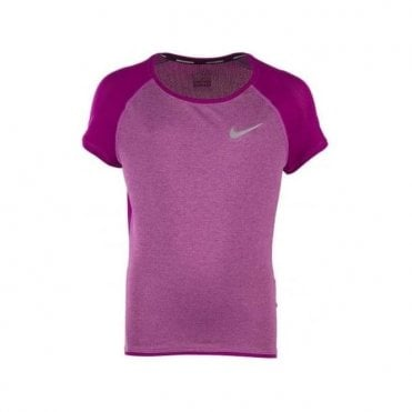 Girl's Dry Core Run Running T-Shirt