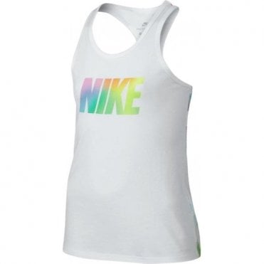 Girl's Summer Rainbow Tank