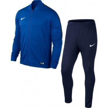 JR Academy 16 Knit Tracksuit Blue