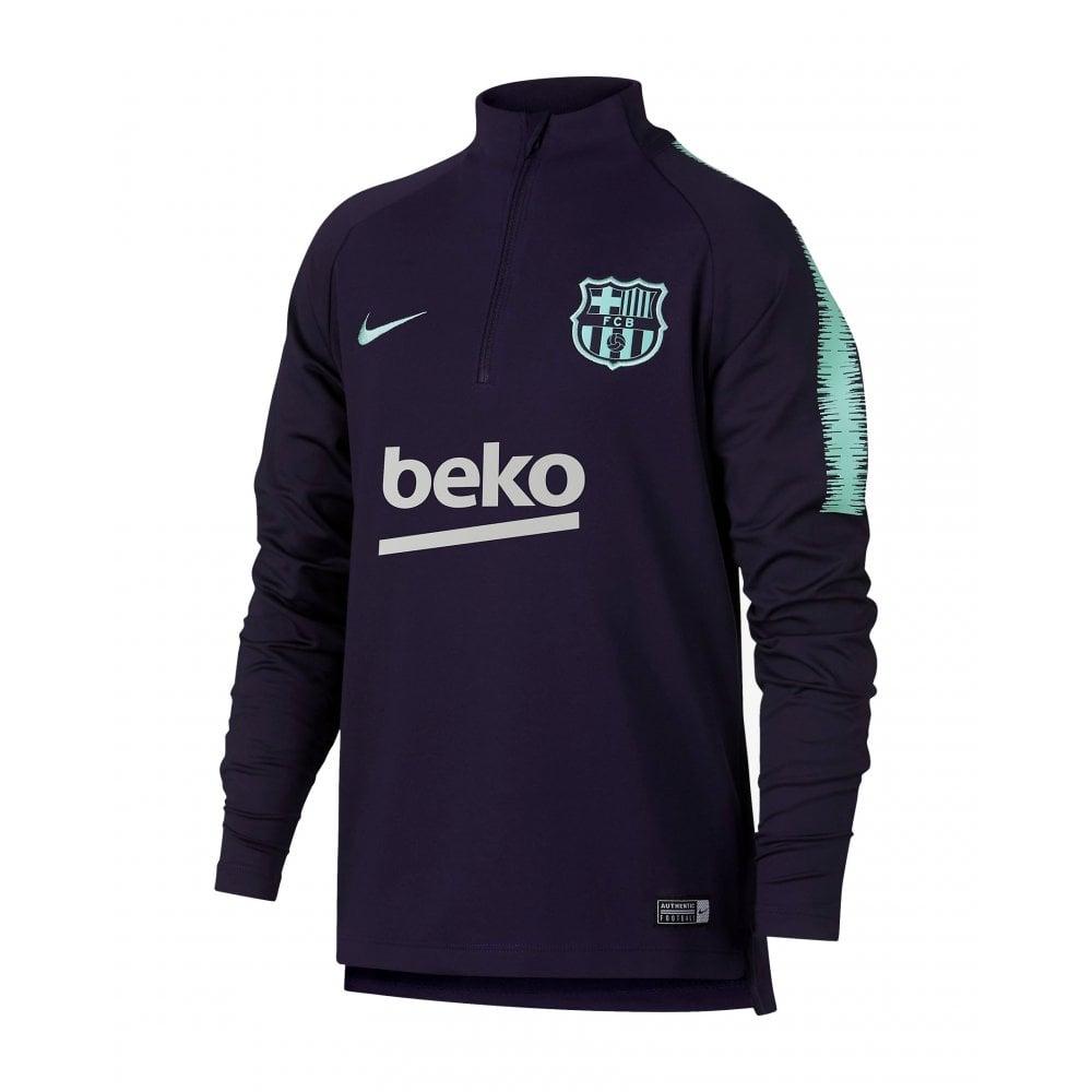 low priced c8855 122a5 Kids Barcelona Dri-FIT Squad Top