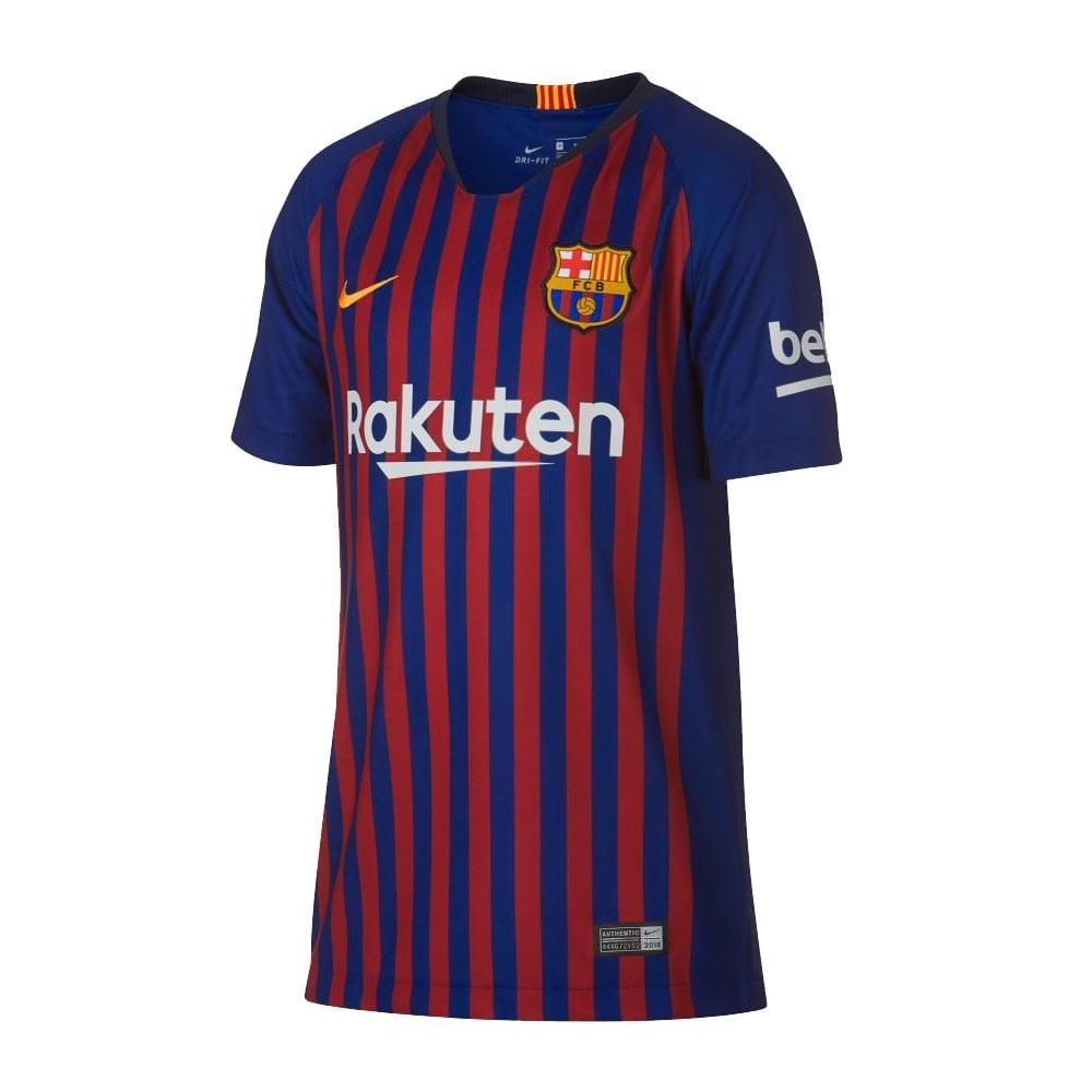 87ff97525 Nike Kids Barcelona Home Jersey 2018/2019 | BMC Sports