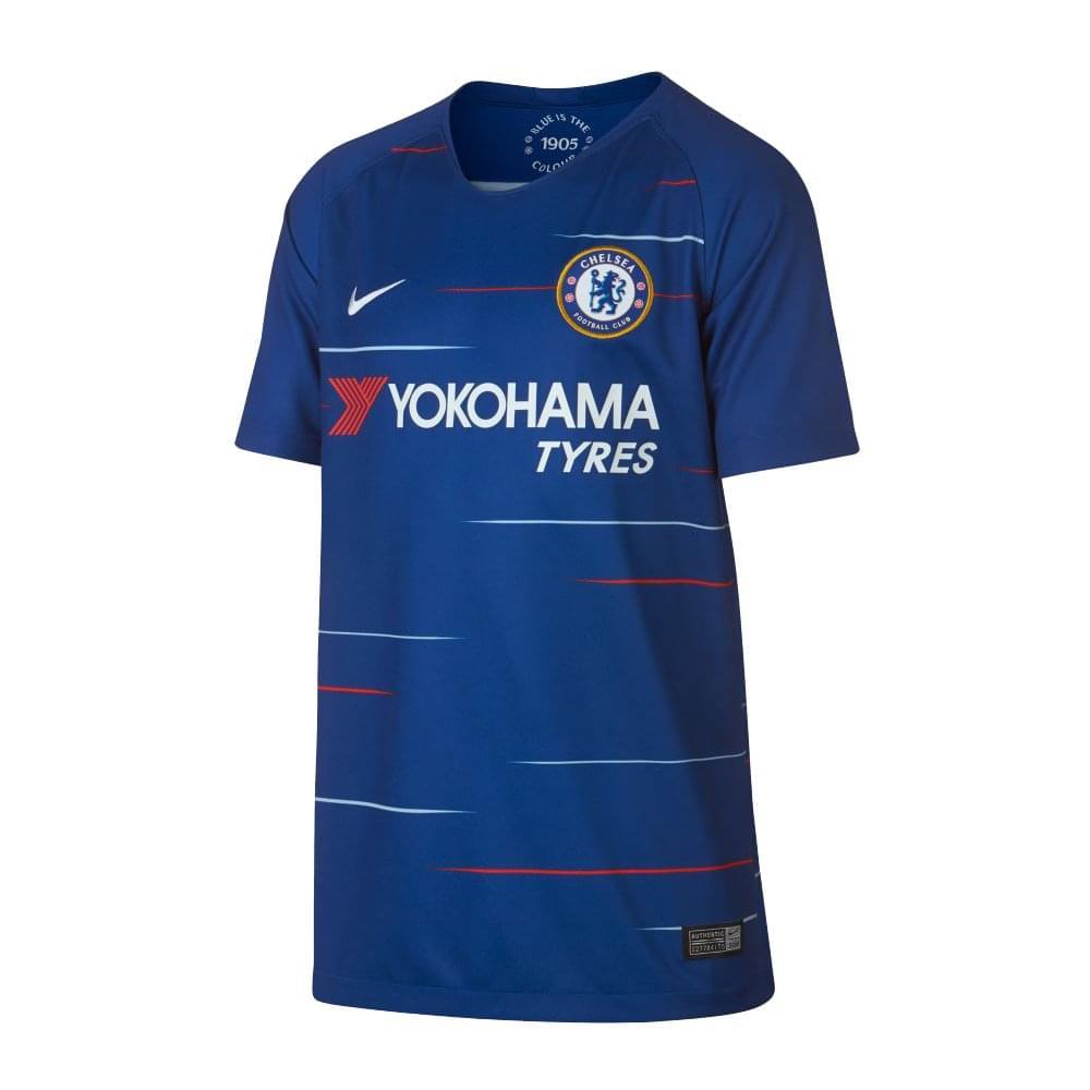 brand new 420fa e3528 Kids Chelsea FC Home Jersey 18/19