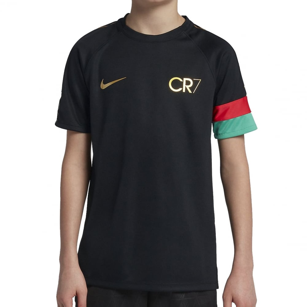 the best attitude c0ad3 ef1a8 Kids CR7 Academy Tshirt Black