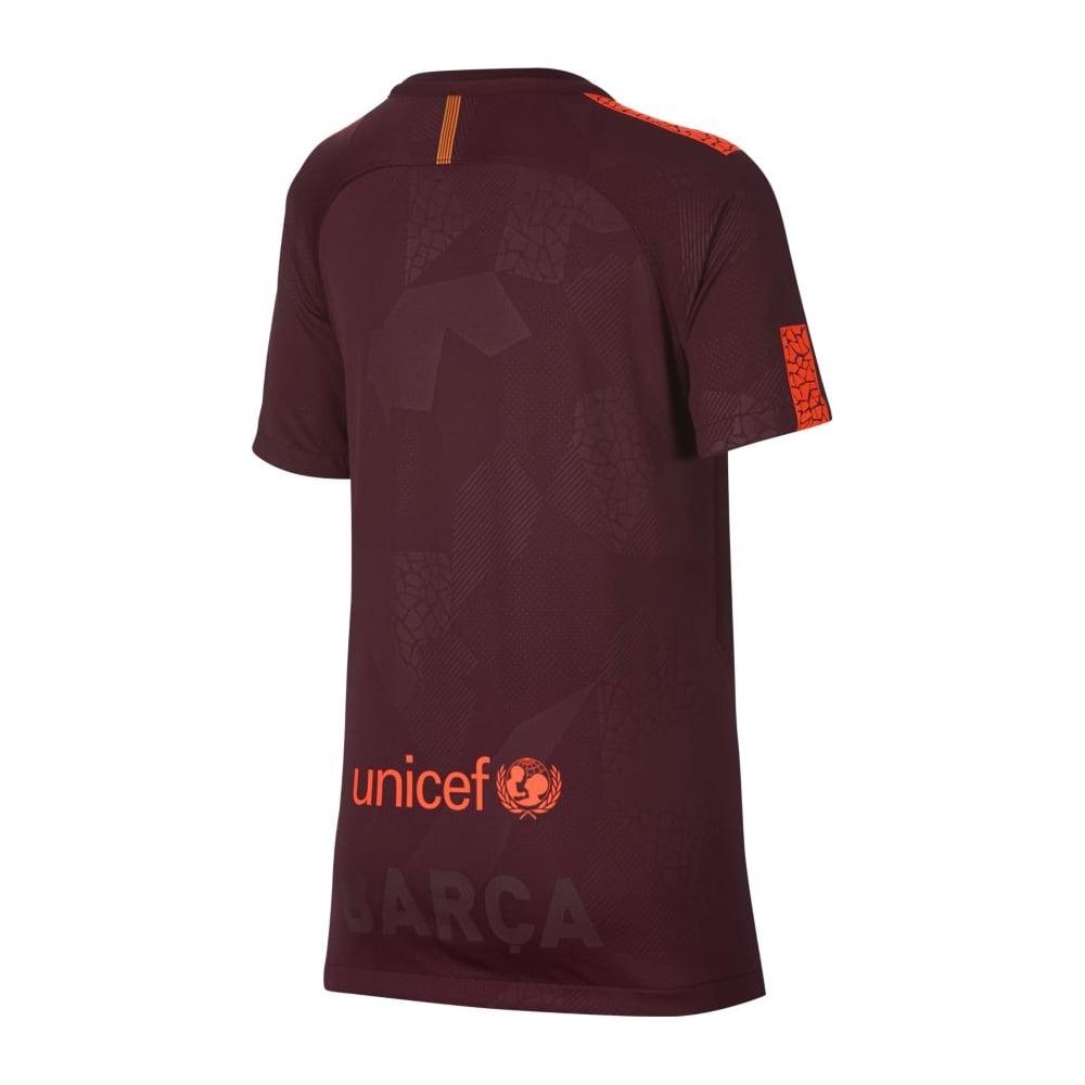 huge selection of 0fdd2 516e1 Kids FC Barcelona 3rd Jersey