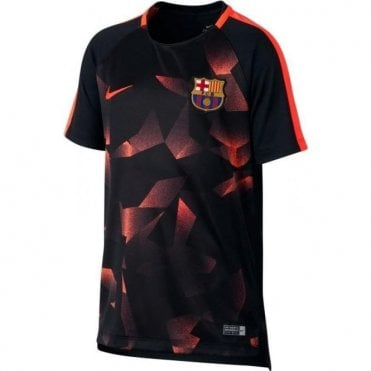 Kids' FC Barcelona Squad Football Top
