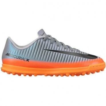 Kids' Jr. MercurialX Vortex III CR7 TF