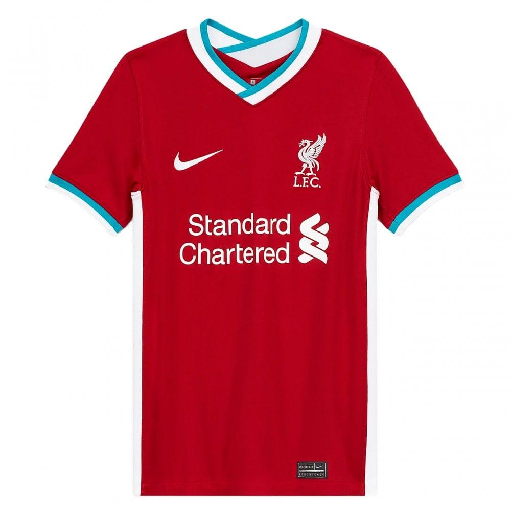 Nike Kids Liverpool Home SS Jersey 20/21   BMC Sports