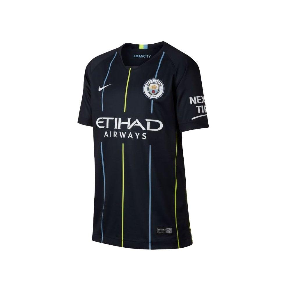 6fde3d858be Nike Kids Man City Away Jersey 18 19