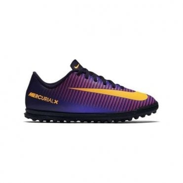 Kids' Mercurial X Vortex III Turf Boot