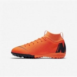 Kids MercurialX Superfly VI Academy TF Orange