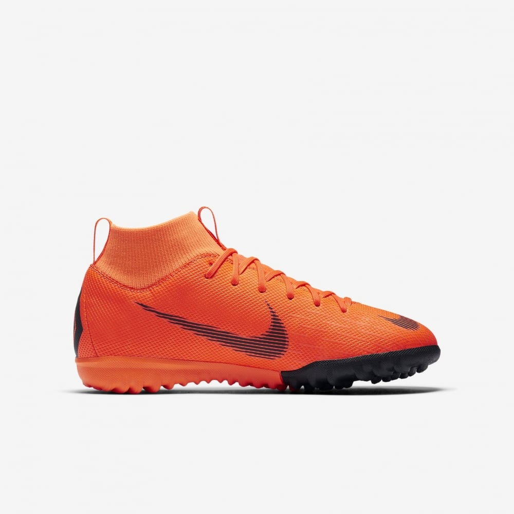 detailed look premium selection free shipping Kids MercurialX Superfly VI Academy TF Orange