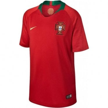 Kids Portugal Home Jersey 2018
