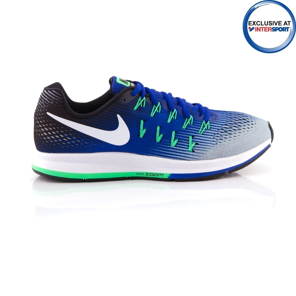 buy popular 2cfaf 2538f ... netherlands nike mens air zoom pegasus 33 blue running shoes 946c1 a2184