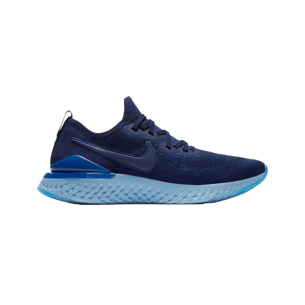 c202bfa7c9 ... Footwear; Nike Men's Epic React Flyknit 2 Blue. Tap image to zoom. Nike  Flyknit. Men's Epic React Flyknit ...