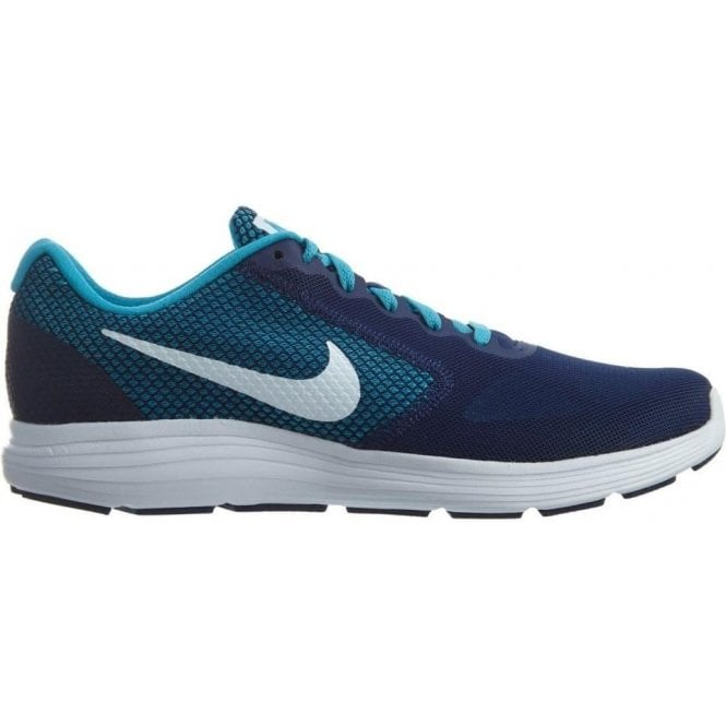 Nike Mens Revolution 3 Running Shoe Navy