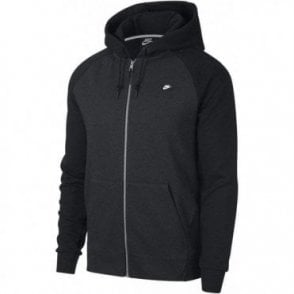Men's Sportswear Optic Full Zip Hoodie Black
