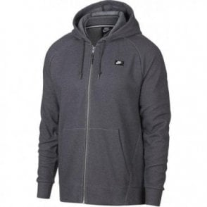 Men's Sportswear Optic Full Zip Hoodie Grey