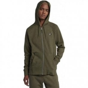 Men's Sportswear Optic Full Zip Hoodie Khaki