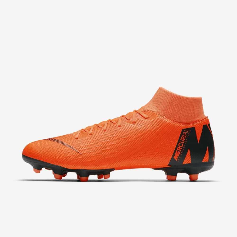 reputable site e16c6 e0c5e Mercurial Superfly VI Academy Multi-Ground Orange